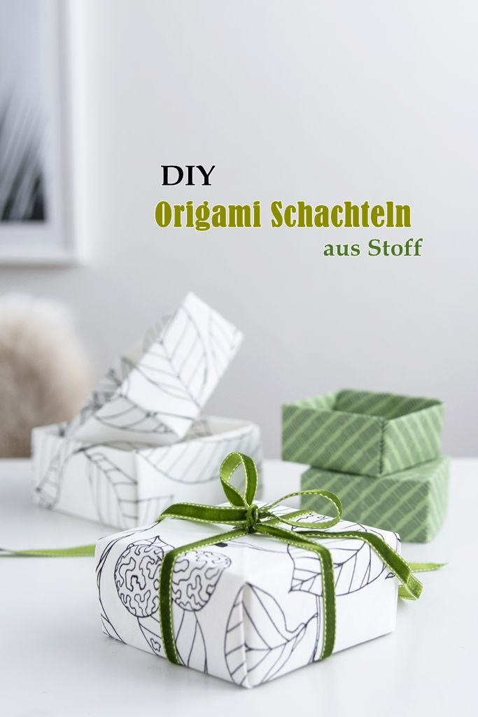 DIY make your own gift boxes out of old fabric pieces #diy #giftideas