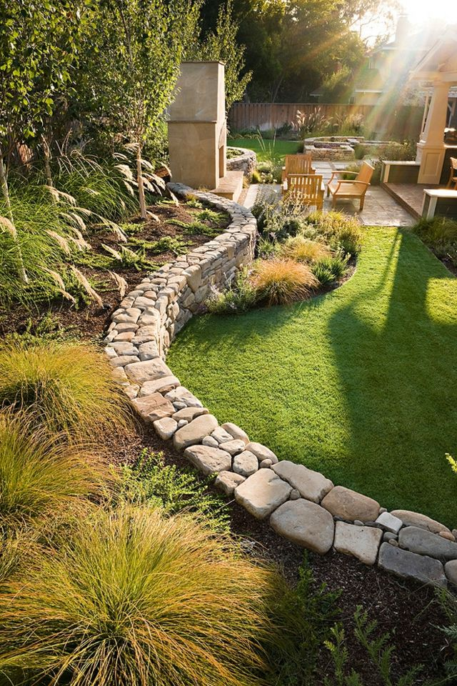 21 Top Ideas For Your Garden! Summer Is Coming... want to redo the rock walls wi...