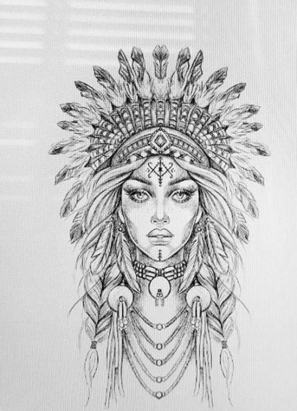 54+ Trendy Ideas tattoo sleeve ideas drawings faces - Zeichnen - #Drawings #Face...