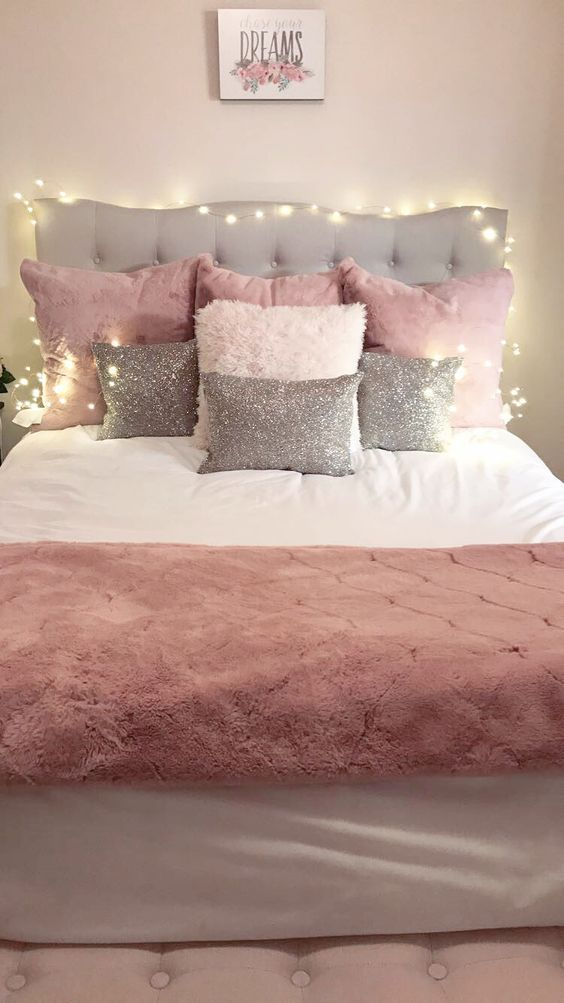 Pink Bedroom Ideas for Teen Girls - #Bedroom #Girls #Ideas #Pink #shiplap #Teen