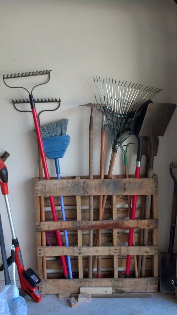 25 Beautiful Cheap Pallet DIY Storage Projects to Realize With Ease ähnliche to...