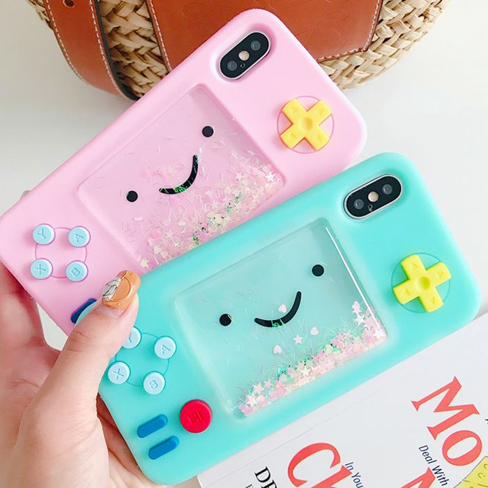 We Found Cheap BMO Cute Liquid Glitter Rubber iPhone Case with a huge discount. ...