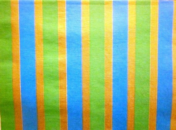 Vintage Wrapping Paper - Statement Stripes - Oversized Full Sheet Gift Wrap - Ar...