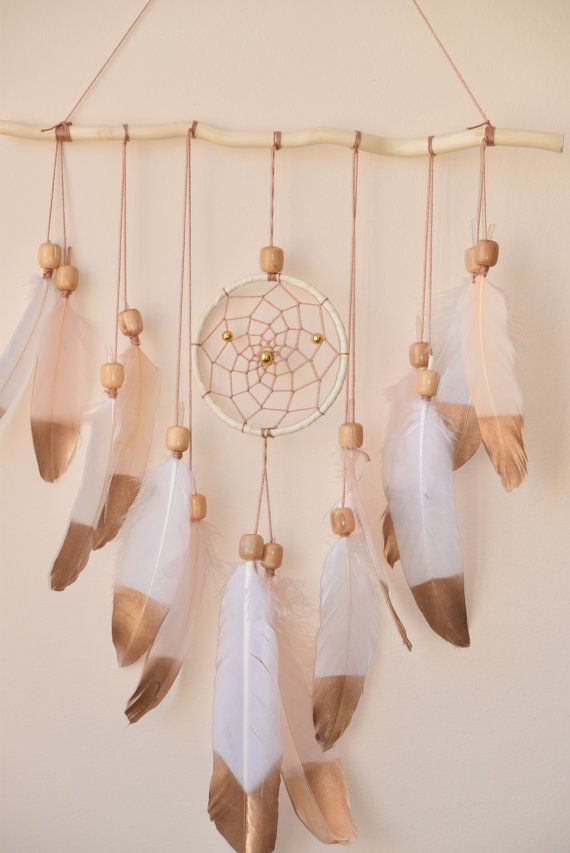Wandbehang Dreamcatcher, große Dreamcatcher, Treibholz Dec ...  #dreamcatcher #...