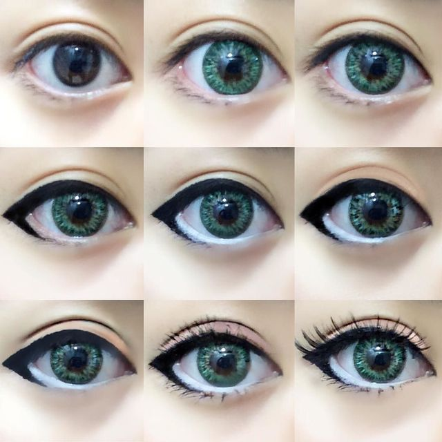 One of my favorite makeup routines for cosplay or circle lenses () Will be posti...