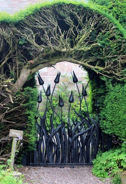 20 Beautiful Garden Gate Ideas | Architecture, Art, Desings - Daily source for i...