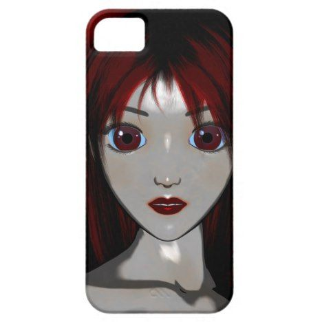 Mesmerize Vampire Goth Anime Fantasy iPhone SE/5/5s Case #gothicstyle #gothicart...