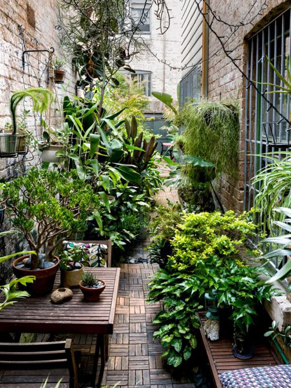 20 Tiny Courtyard Garden With Cozy Seating | Home Design And Interior