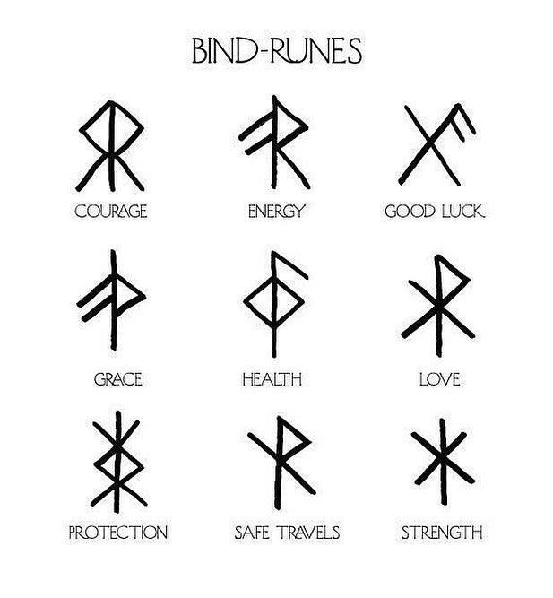 Vikinger Tattoo - Bind runes, engrave them!🌳Follow @norsesouls for more rune ...