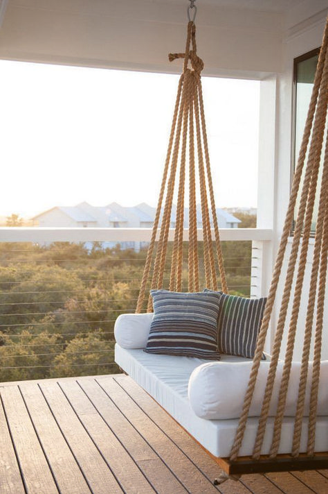 Legende  4 Installation Tips to Get a Super Comfy Porch Swing in Your House  #co...