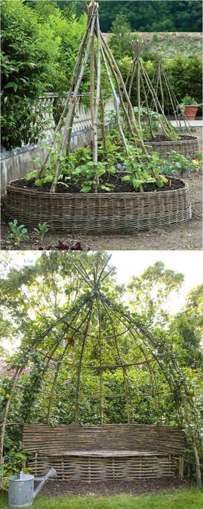 Create enchanting garden spaces with 21 beautiful and DIY friendly trellis and g...