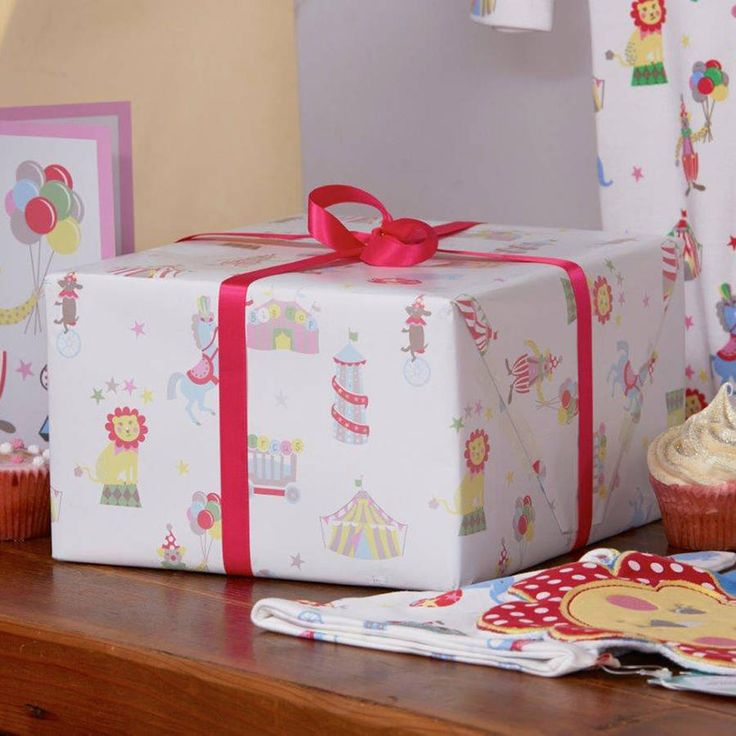 Gift Wrap Fairground Theme