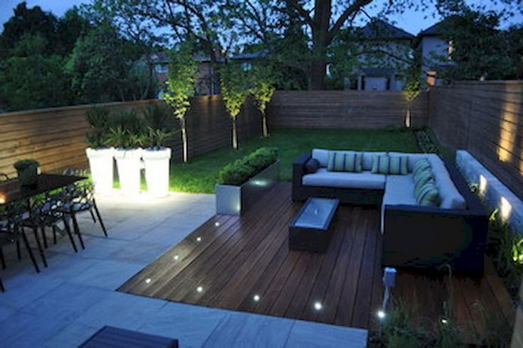 63+ Beautiful Simple & Fresh Small Backyard Garden Design Ideas #gardening #gard...