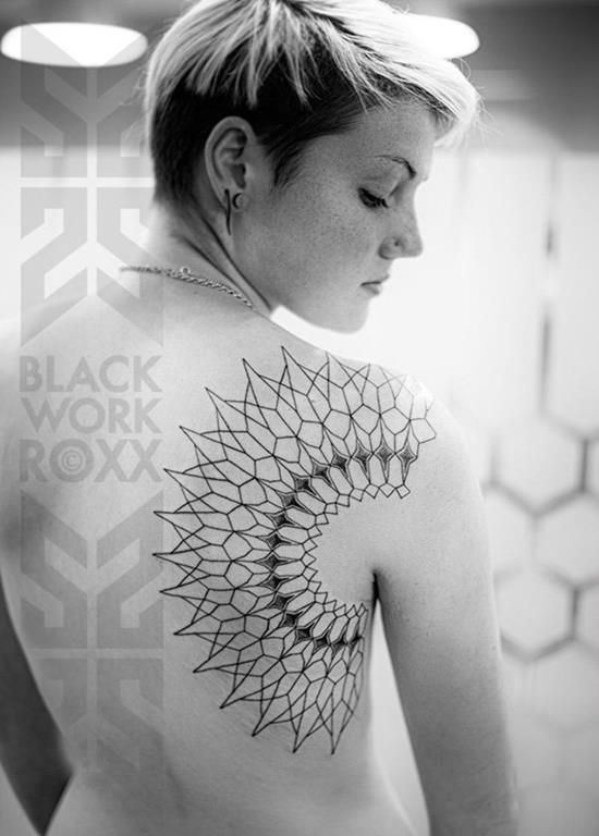 100 Perfect Geometric Tattoos & Meanings