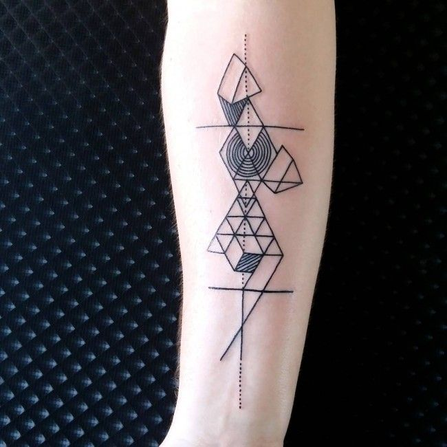 150 Sacred Geometric Tattoos Meanings (Ultimate Guide 2019)