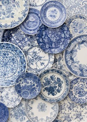 Blue Garden Collection A carefully curated variety of traditional blue and white...