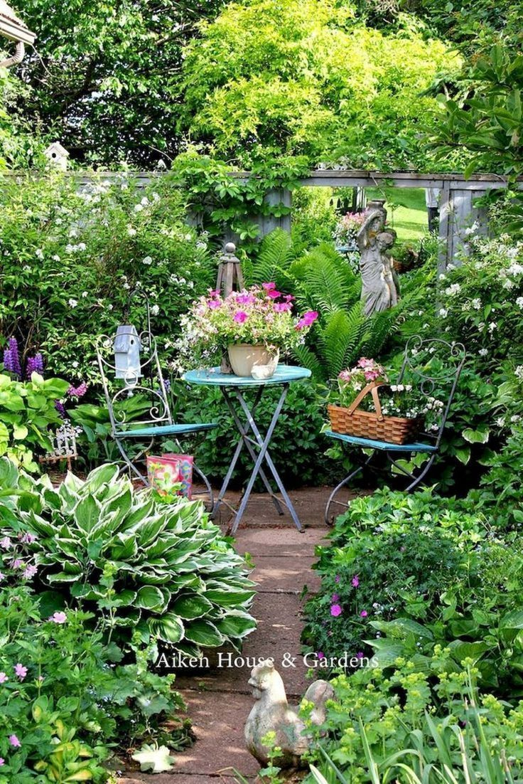 Schönes kleines Cottage Garden Design Ideas 250  GooDSGN  #Cottage #design #G
