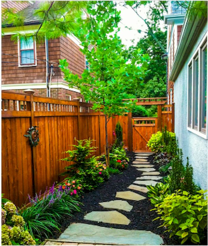 40 INSANELY SIDE YARD GARDEN DESIGN IDEAS AND REMODEL