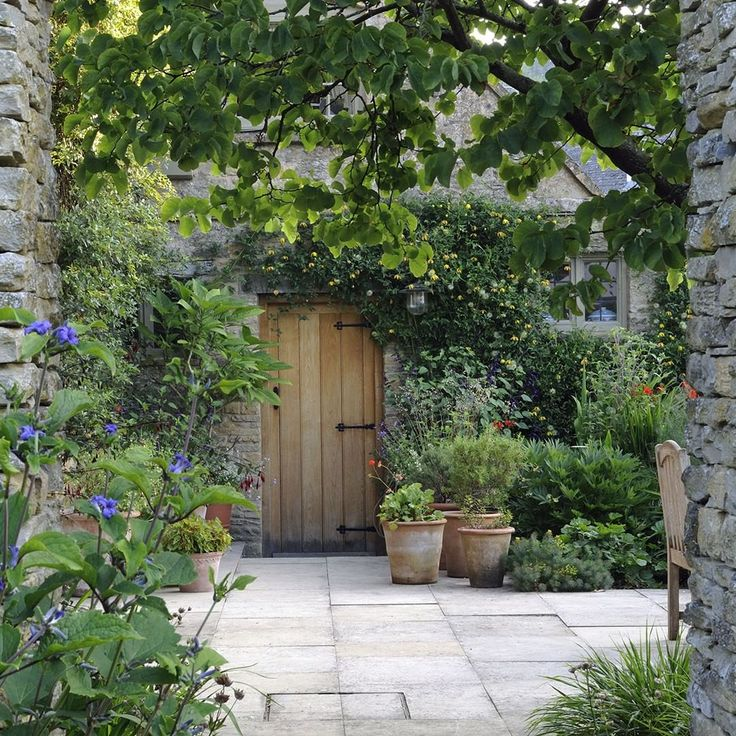 The Old Rectory, Naunton, Gloucestershire. Dan Pearson's idea to redesign the ...