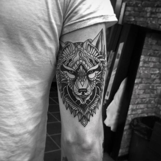 Wolf Tattoo – TOP 150 Wolf Tattoos So Far This Year  #tattoo #tattoos