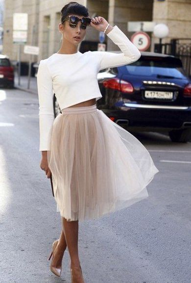 70 Colorfull Tulle Skirt Outfits Ideas 7 - #Colorfull #ideas #jupe #Outfits #ski...