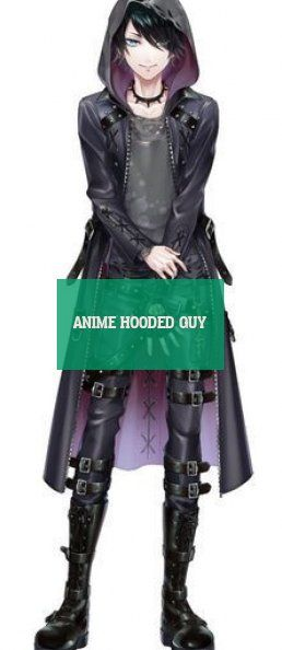 anime hooded guy anime mit kapuze kerl Hooded #anime #hooded