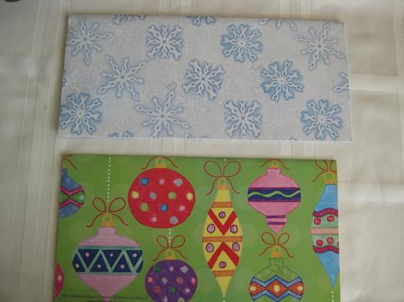 "Christmas gift wrap paper, vintage, 4 designs, 4 folded sheets . 20"" x 30"" each ..."