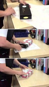 Super Fast Gift Wrapping