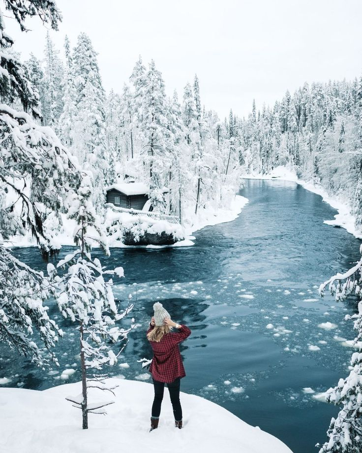 A highlight of our trip to Lapland, Finland - the beautiful Oulanka National Par...