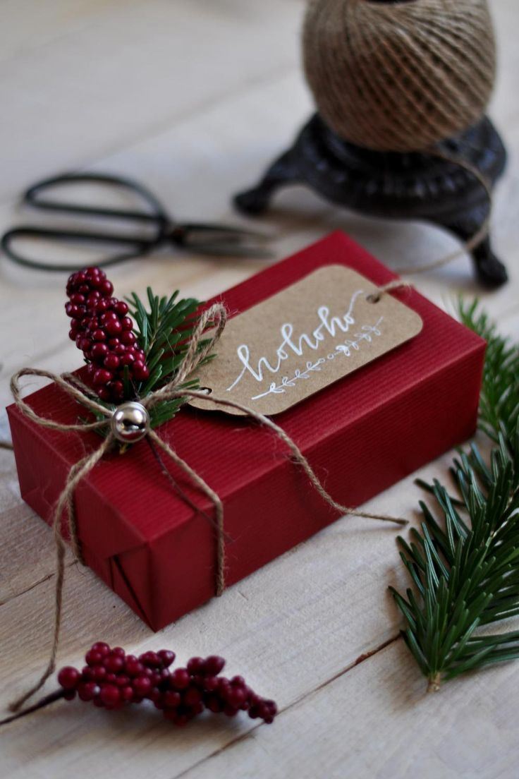 Gift wrapping inspiration - MISS FANNY