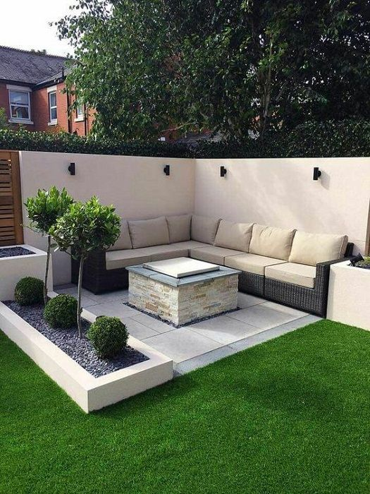 LOOK: 15 intelligent and appealing ideas for small garden design - garden design 2019