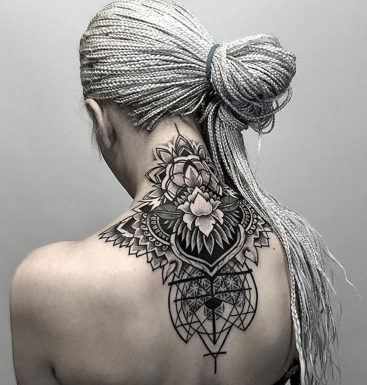 Geometric tattoos - meaningful and cool designs for different body parts ...
