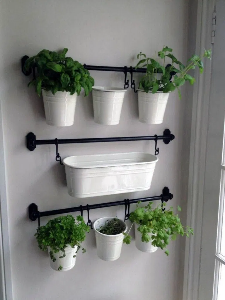 20 creative DIY herb gardens for every room- 20 creative DIY herb gardens ...