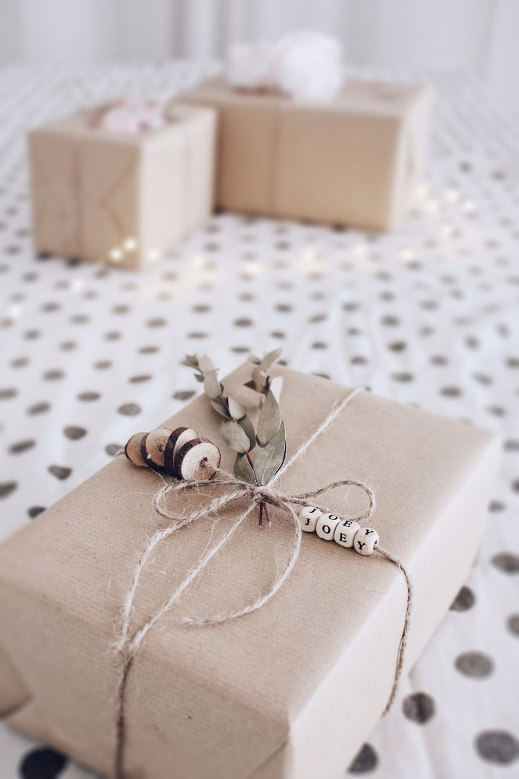 DIY gift wrapping - 3 creative ideas to wrap gifts