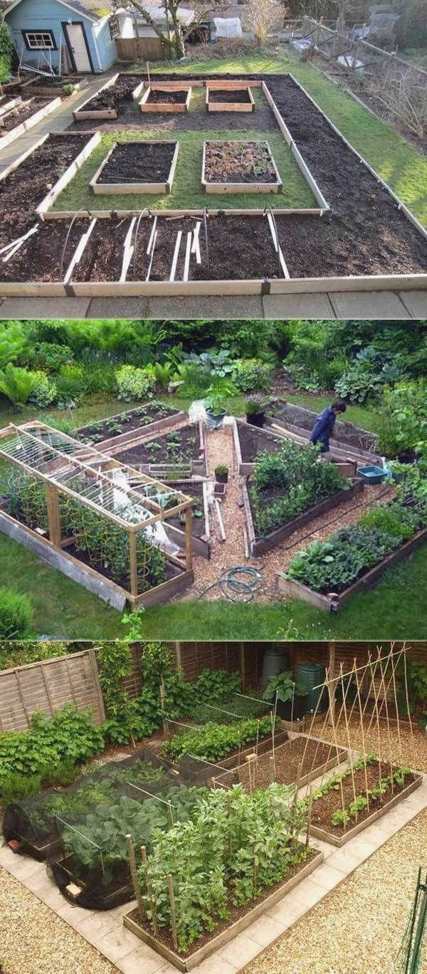 Raised Bed  #Bed #cottagegardenideas #diygardenvegetable #diysmallgardenide  Mei