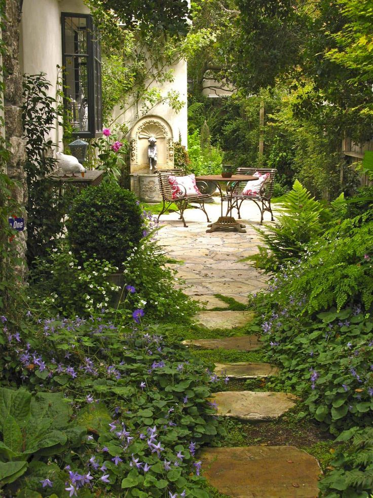 50 very creative and inspiring ideas for garden stone paths #Yardideas
