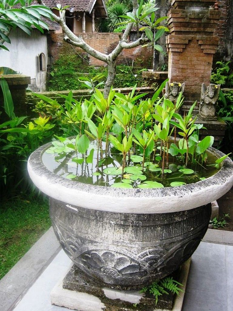 35+ WONDERFUL BALINESE GARDENING IDEAS FOR BACKYARD #backyard #backyarddesign #b...