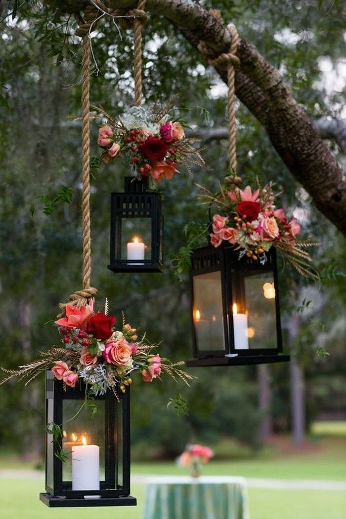 Garden party decoration ideas - the most beautiful ideas for your garden