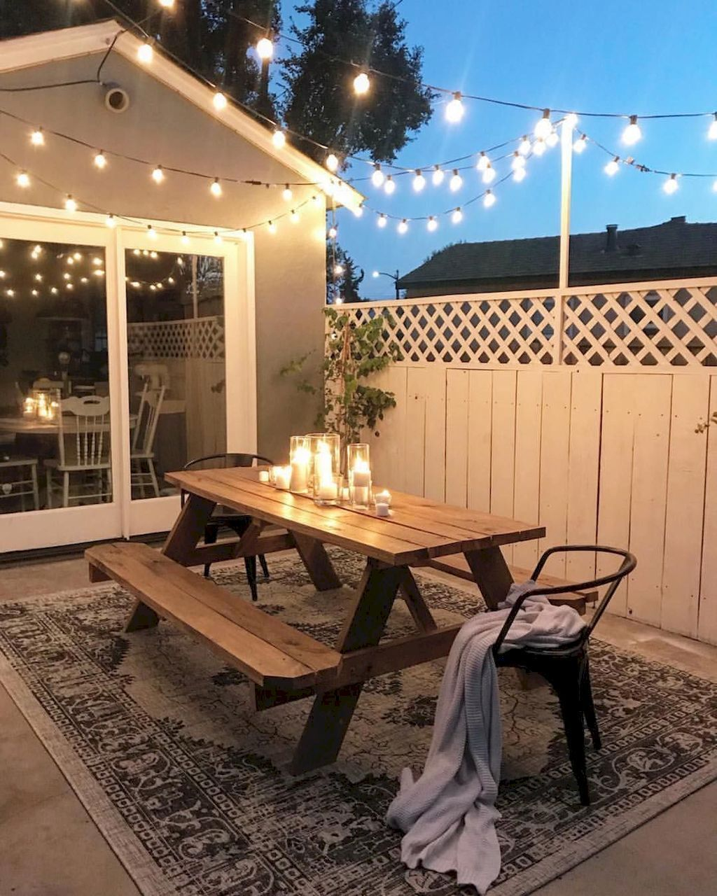 80 Awesome Small Patio on Budget Design Ideas - HomeSpecially - Small patio decorating ideas - Honorable BLog