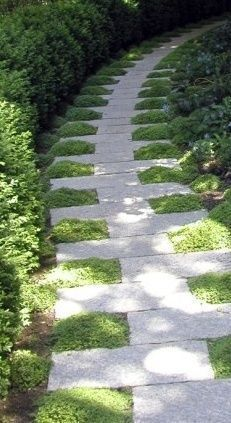 42 amazing ideas for DIY garden paths and walkways - garden #yardideas - yard ideas