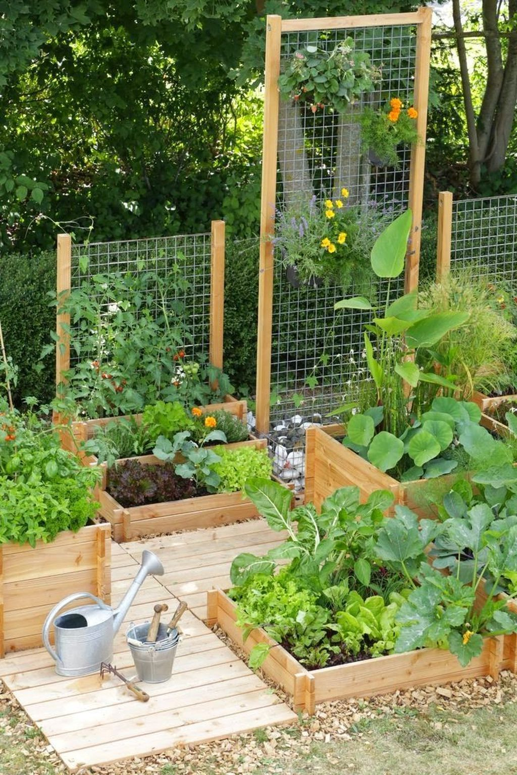 30+ Cozy Small Vegetable Garden Ideas On A Budget, #Budget #cozy #Garden #Ideas #Small #Veget...