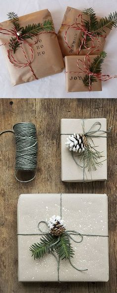16 Favorite Easy Gift Wrapping Ideas (Many are Free!)