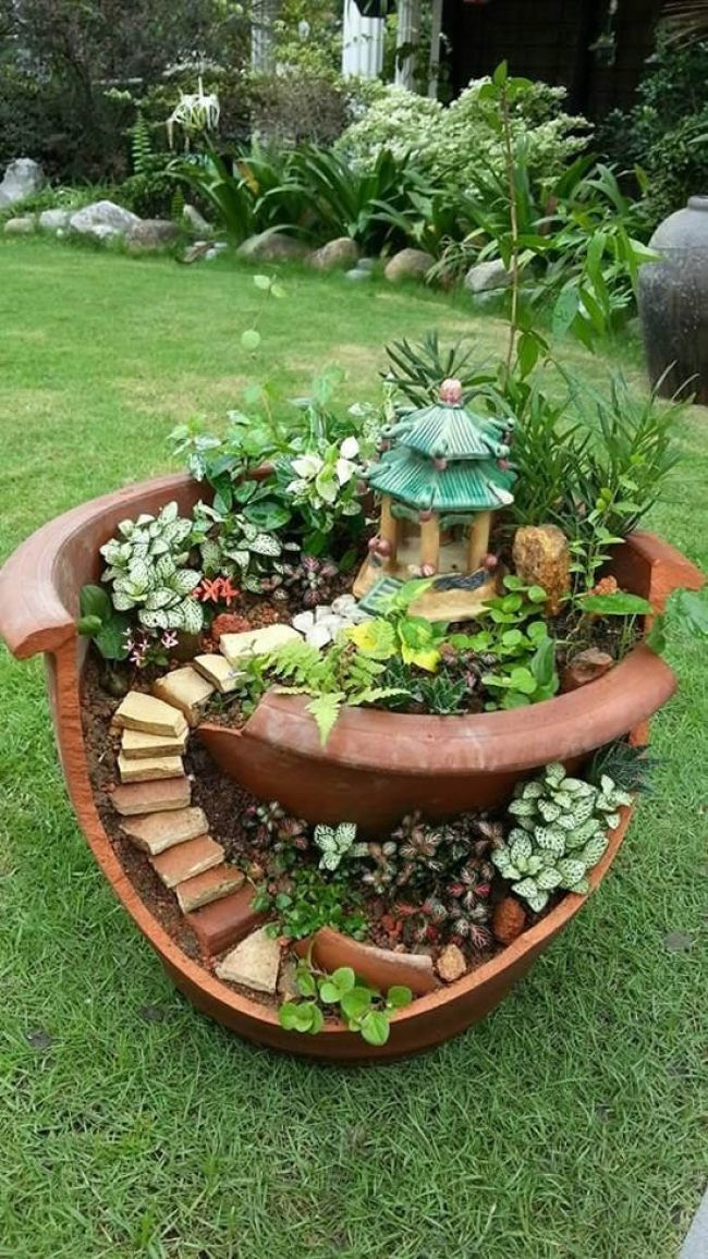 30 amazing DIY ideas for the unique decoration of your garden - Diyprojectsgardens.club