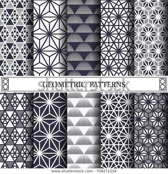 Look for Triangle Geometric Vector Patternpattern Fills Web Stock Images in HD and Mil… Like #besttattoo - diy best tattoo images